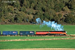 You had to see it to believe it (C.P. Kirkie) Tags: oregon steamtrain steamlocomotive sp4449 willamettevalley willamettepacific wprr