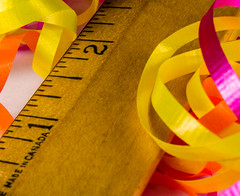 Macro Measure (Light Collector) Tags: closeup wooden ribbon measure ruler inches tabletop odc madeincanada