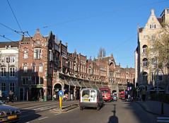 Amsterdam (Maxofmars) Tags: street city morning netherlands amsterdam calle europa europe strada strasse nederland ciudad stadt typical rue paysbas carrer citta matin straat