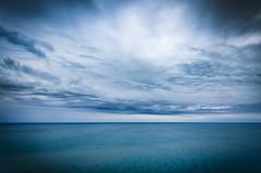 Blue Day 25 (Melody Migas) Tags: blue sea 2 sky orange seascape west beach gulfofmexico phoenix clouds mexico coast gulf alabama melody lr orangebeach gulfcoast migas pw2 melodymigas phoenixwest2