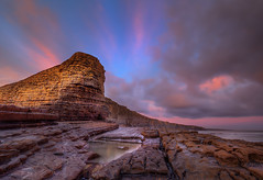 """ EARLY ONE MORNING "" (Wiffsmiff23) Tags: beach sphinx sunrise dramatic drama traeth nashpoint heritagecoastlinesouthwales"