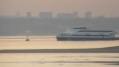 Catamarans (fotos_ilca) Tags: portugal boats barcos pôrdosol catamarans transportes barreiro 2015 riotejo