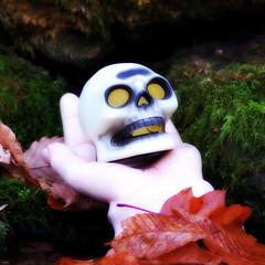 (James Kaval) Tags: skull metaphotography handofgod handofdeath jameskaval jameskavalphotographygmailcom