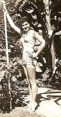 Sugar 14 years old (Sugarbarre2) Tags: teen black white minolta tropical island eyes face virgin fun vacation feet bare nostalgia self dark light sun hot me