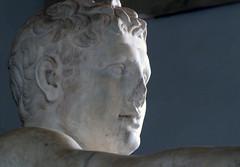 Lysippos, Apoxyomenos, profile