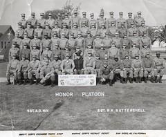Marine Corps Bootcamp 1955 (Wigwam Jones) Tags: 1955 usmc marine san dress blues diego corps mcrd leatherneck honorman