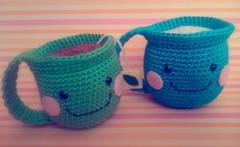 Tacitas (Wen Rou) Tags: crochet cups amigurumi tacitas