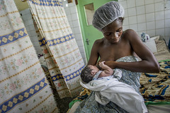 Ghana- June 2014 (mcspglobal) Tags: ghana woman mother baby newborn breastfeeding facility