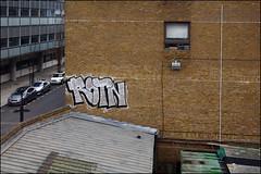 Rotn (Alex Ellison) Tags: urban graffiti tn boobs kc graff eastlondon trackside roten rotn