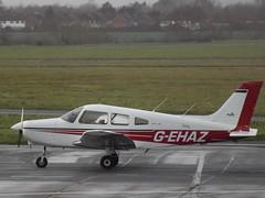 G-EHAZ Piper Warrior (Aircaft @ Gloucestershire Airport By James) Tags: james airport gloucestershire warrior piper lloyds pa28 egbj gehaz