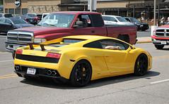 Lamborghini Gallardo LP560-4 (SPV Automotive) Tags: lamborghini gallardo lp5604 coupe exotic sports car supercar yellow