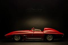 1959 Chevrolet Corvette Stingray Racer (aJ Leong) Tags: 1959 chevrolet corvette stingray racer 118 autoart classic cars vintage vehicles automobiles garage 50s