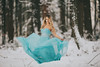 Blue dress in the snow (RW-Photography) Tags: 20161208victoriamundypark vancouver rwphotography pretty elsa frozen frostbite cold canada hongkong tvbfans bluedress snow 200mm f2 protofo westcott sigma