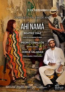 CONCERTO FIM DE ANO Duetos da Sé - SÁBADO 31 DEZEMBRO 2016 - 22h00 - AHÍ NAMÁ