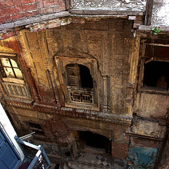 amber vestiges, old city, lahore (Maryam Arif) Tags: perspective composition artistic angle light oldcity lahore maryamarif photography contrast architecture levels observation perception thought time space atmosphere lines amber vestige shadow structure fineart geometry haveli