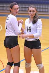 IMG_7915 (SJH Foto) Tags: girls volleyball high school york delone catholic team teen teenager substitution sub rotation