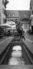 Johnny Jump (pxlline) Tags: switzerland candid streetphotography aarau aargau ch