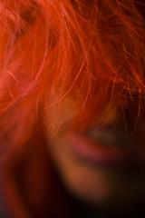 Day 110 (Esme on Plum Island) Tags: redhair hairdye 365days face closeup me