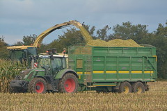 Krone Big X 650 SPFH filling a Broughan Engineering Mega HiSpeed Trailer drawn by a Fendt 716 Vario Tractor (Shane Casey CK25) Tags: krone big x 650 spfh filling broughan engineering mega hispeed trailer drawn fendt 716 vario tractor agco green rathcormac self propelled forage harvester silage silage16 silage2016 maize maize16 maize2016 winter feed fodder county cork ireland irish farm farmer farming agri agriculture contractor field ground soil earth cows cattle work working horse power horsepower hp pull pulling cut cutting crop lifting machine machinery nikon d7100 tracteur traktor traktori trekker trator ciągnik