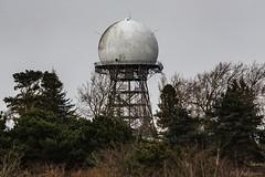 Discovery 170129 (jetcitygrom) Tags: discoveryparkseattlelandscapejanuary canon 6d 70200mm washington radar tower radome trees