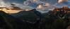 Cañón Añisclo (dACE :)) Tags: aragón cañondeañisclo espanya españa spain añisclo capvespre huesca muntanyes paisatge panorama pirineus atardecer pirineos dusk pirinees canyon mountains panoramic