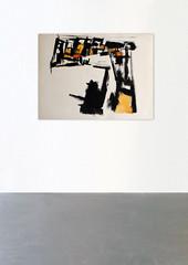 jean_paul_barray_clement_cividino_gouache_1 (Galerie Clément Cividino Ent. / L'extension) Tags: barray jean paul peinture design mobilier galerie gallery clement cividino perpignan exhbition painting art abstract midcenturymodern modernism kim molyzer penta chair furnitures meubles fauteuil table collection lampe lamp abstrait peintre sculpture cesar klein atelier césar olivier cavaller