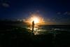 Fishing at sunset - Tel-Aviv beach (Lior. L) Tags: fishingatsunsettelavivbeach fishingatsunset telavivbeach fishing sunset telaviv beach sea seascapes travel travelinisrael fisherman silhouettes flare shadows silhouette light sun landscape landscapes dusk
