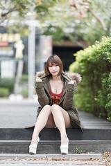 DSC_5563 (錢龍) Tags: 希維亞 小希 文創園區 外拍 beauty sexy nikon d700 girl 短髮