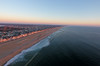 The sun rises over Manasquan and the Atlantic Ocean. Captured via a DJI Phantom 4. (apardavila) Tags: atlanticocean djiphantom4 jerseyshore manasquan manasquanbeach aerial drone sun sunrise
