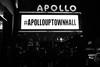 #apollouptownhall (B.C. Lorio) Tags: apollotheater apollotownhall wnycmlk mlkweekend martinlutherkingjr wnyc harlem manhattan nyc xphotographer xe2s xf23mmf2 fujifilm fujifilmxus blackandwhite monochrome