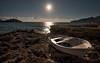 La barca (Tatxon) Tags: mallorca santelm sea mar barca boat shore orilla 1635 nikon nikkor d750 landscape paisaje