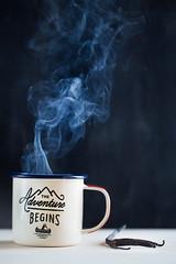 5/52 And so, everyday... (Nathalie Le Bris) Tags: smoke mug quote humo taza frase texto text stilllife bodegón