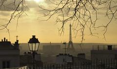 paris sunset (poludziber1) Tags: paris france îledefrance city colorful capital cityscape color clouds colorfull street sky skyline streetphotography sunset travel tower urban landscap lamp