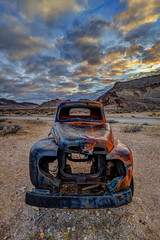 Rhyolite Truck (Jeff Sullivan (www.JeffSullivanPhotography.com)) Tags: old rusty dodge truck rhylite ghost town death valley national park landscape nature travel photography beatty nevada usa canon eos 6d photo copyright 2017 jeff sullivan abandoned rural decay mining photomatixpro