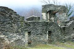 Harpers Ferry NHP ~ church ruins (karma (Karen)) Tags: harpersferrynhp wva stjohnsepiscopalchurch churchruins stonework windows doors walls usparks hww