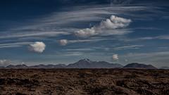 Post-volcanic altiplano (Piotr_PopUp) Tags: cerrocosor lava field volcano volcan erosion atacama antofagasta sanpedrodeatacama losflamencos chile landscape cloud clouds mountain mountains latinamerica southamerica nature sky blue