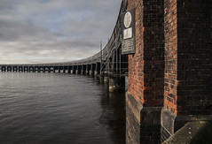 Tay Rail Bridge - March 2017 (GOR44Photographic@Gmail.com) Tags: tayrailbridge tay bridge railway water sea brick gor44 scotland dundee angus canon tamron 5d 2875mmf28