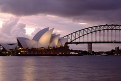 Sydney opera house ( 2 ) (linwujin) Tags: austria sydney cloud river fujifilm xt1 xf1655 sunset harbour bridge light operahouse