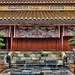 Colourful facia of Hue Temple