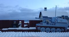 Frostige Wege (Richard_LEGOherz) Tags: lego ww2 wwii marder3 marderiii ausfm winter german army frostige wege sky tank sdkfz 138 panzerjäger 38 t 75cmpak 403