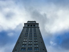 Look Up Timelapse ((Jessica)) Tags: timelapse iphone lapseitpro iphone6s customhousetower lookup clouds video motion sky gorillapod joby griptightpro downtown boston