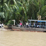 Fähre im Mekong Delta