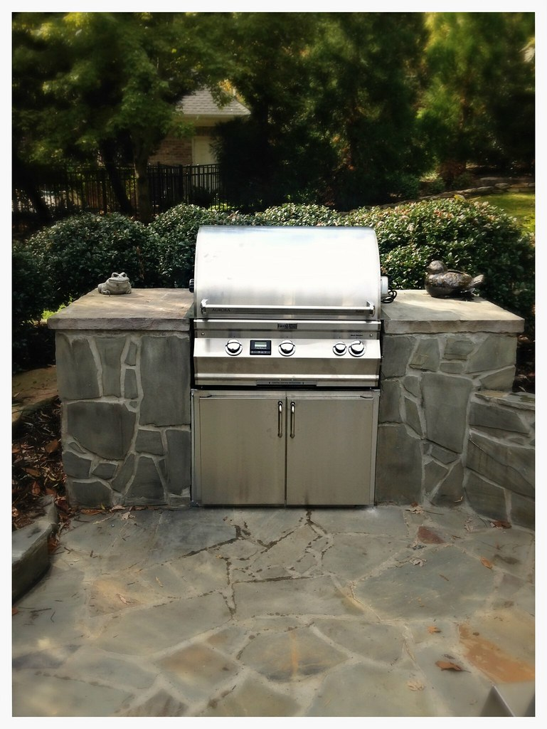 Fire Magic A660i Built in Gas Grill. Chattanooga, Tn.