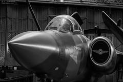 Buccaneer Mk2B (M J Robinson Photography) Tags: blackandwhite bw monochrome museum photography nikon aviation blackburn duxford raf hawker buccaneer imperialwarmuseum iwm royalairforce siddeley hawkersiddeley d7100 aviationaward nikond7100