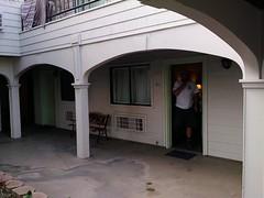 Room 106, pet-friendly (EllenJo) Tags: ca vacation hotel highway1 orangecounty lagunabeach pacificcoasthighway arthotel ellenjo summerincalifornia ellenjoroberts triptocatalinaisland august2015