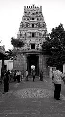 Marundeeshwarar Temple, Thiruvanmiyur (Devanathan Ram) Tags: temple blackandwhitephotography blackwhitephotography thiruvanmiyur nammachennai mobileclicks marundeeshwarartemple