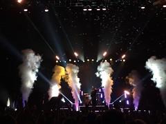 Pierce The Veil   Lowell, Massachusetts (cameronatzbach) Tags: lights concert veil smoke arena pierce lowell tsongas massachusett