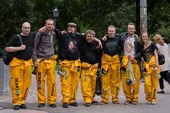 Heikki & his friends (Poupetta) Tags: students helsinki strangers finnish heikki