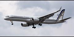 Boeing 757-23N(WL) SX-RFA (fil.nove) Tags: plane canon private riviera aviation aeroporto rimini boeing airways airlines aereo emiliaromagna romagna 70300 federicofellini spotter romagnola atterraggio 60d 75723nwl sxrfa gainjet rmilipr