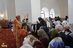 036. Patron Saints Day at the Cathedral of Svyatogorsk / Престольный праздник в соборе Святогорска